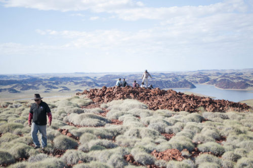 In Roebourne on the set of Elevate film Undiscovered Country_photo by Robyn Marais