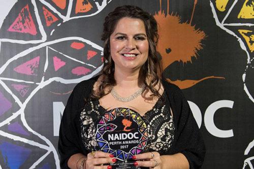 170628 Karla Hart NAIDOC Award